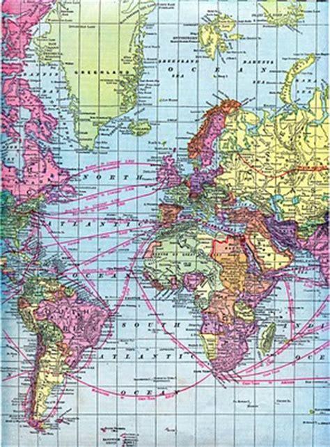 vintage clip art world maps printable