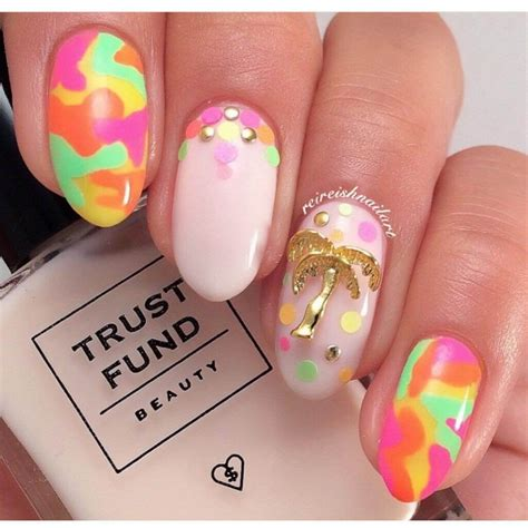 dazzling collection  camo nail designs design trends