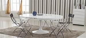 Table Ronde Extensible Design : table manger design en bois isola ~ Teatrodelosmanantiales.com Idées de Décoration