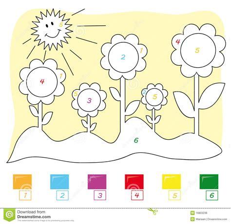 preschool coloring  numbers
