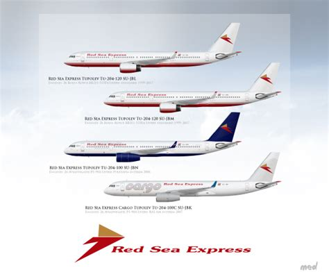 Red Sea Express Fleet Tu-204