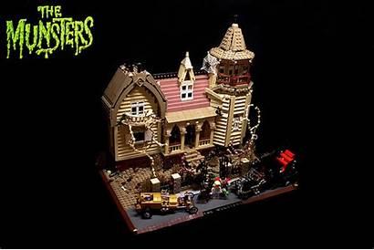 Munsters Lego Munster Mansion Wheels Koach Orion