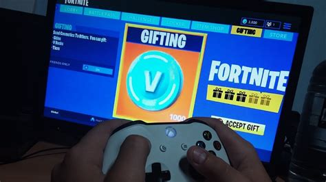 gift  bucks  fortnite battle royale youtube