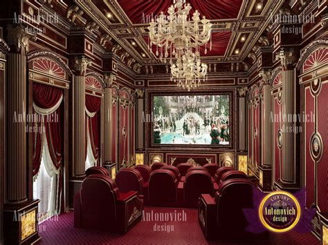 The Entrance Of A Cinema Hotel Or Theatre by Luxury Home Cinema Design
