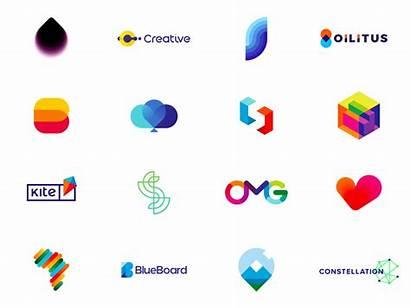 Logos Dribbble Trends Popular Shots Colors Creative