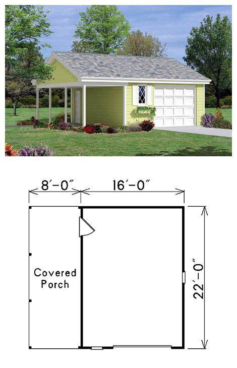 car garage plan number  house  porch garage