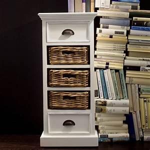 Kommode Mit Regal : novasolo regal kommode mit 2 schubladen und 3 rattank rben kollektion halifax ebay ~ Orissabook.com Haus und Dekorationen
