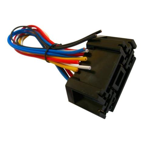 Volt Double Socket Wiring Harness For Single Pull