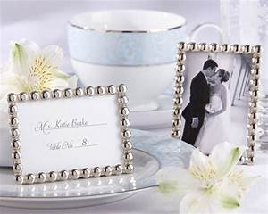 quotsilver pearlsquot mini photo frame With wedding place cards photo frames