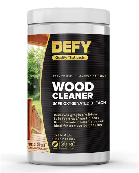 Defy Wood Cleaner Lowes