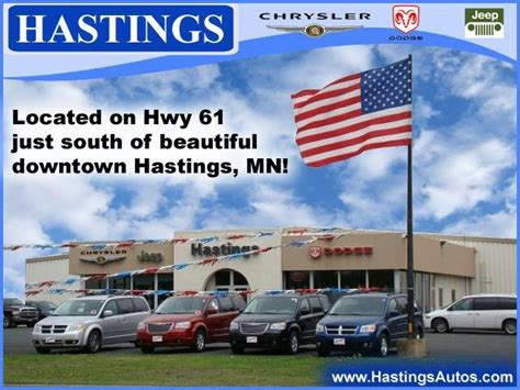 Hastings Chrysler Center by Hastings Chrysler Center 13 Photos Car Dealers 2980