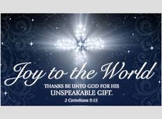 Free Joy to the World eCard eMail Free Personalized