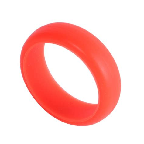 silicone wedding band rings men women rubber hypoallergenic rubber ring ebay