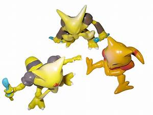 Abra Kadabra Alakazam Pokemon Action Figures | Gotta catch ...  Abra