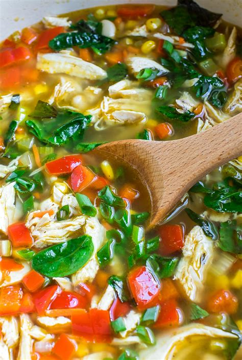one pot chicken and vegetable soup peas and crayons