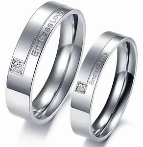 Matching Titanium Wedding Bands Wedding And Bridal