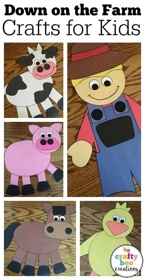 farm crafts bundle the farm preschool 294 | dfebc015fa4c89d2a33a6b025d07ca8d