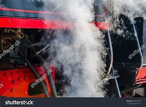 Ancient Steam Locomotive In Steam  Live Steam Around