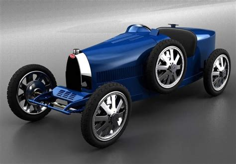 The bugatti baby ii implies that there was a bugatti baby i, but frankly, we couldn't be bothered to investigate that. On the occasion to celebrate this company 110th anniversary, Bugatti and Junior Classics have ...
