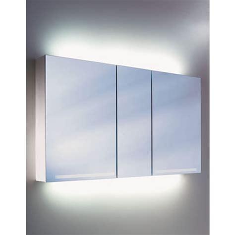 schneider graceline 3 door mirror cabinet uk bathrooms