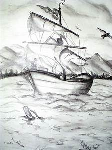 Beautiful Sketch Of Nature - Drawing Of Sketch