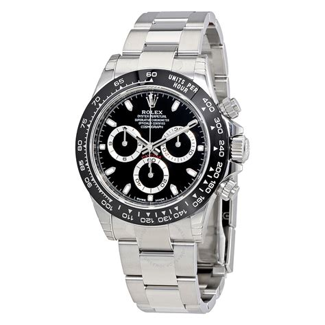 Rolex Cosmograph Daytona Black Dial Oyster Men's Watch ...