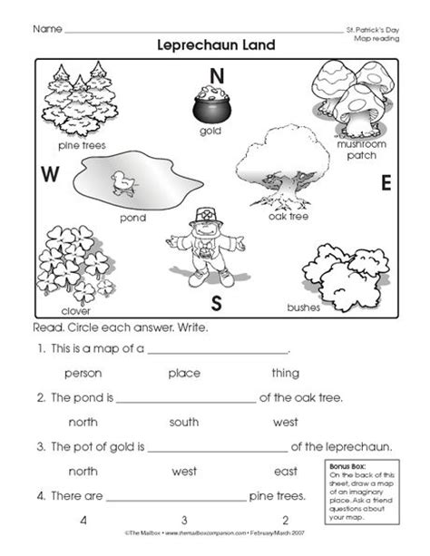 1st grade geography worksheets worksheets for all