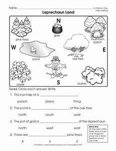 Reading a Map Worksheet (Easy and free to click and print ...
