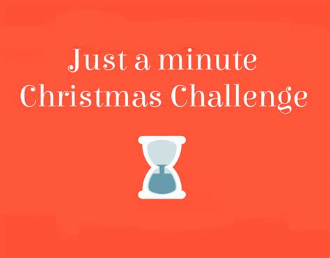 minute christmas challenge esl kids games