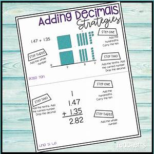 How To Use Anchor Charts In Your Math Lesson