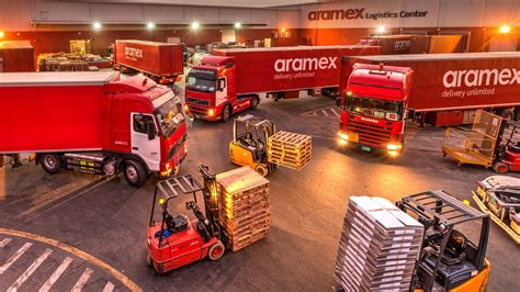 aramex aims  disrupt  logistics industry
