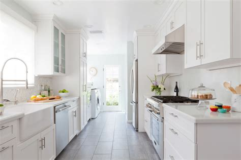 houzz galley kitchen designs how to update your early 2000s kitchen homepolish 4342