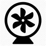 Fan Icon Portable Desk Vectorified Editor Open