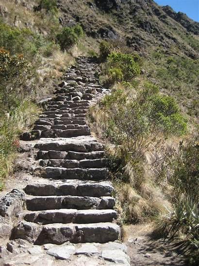 Inca Trail Picchu Machu Stairs Death Trails