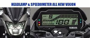 Harga Headlamp Led  Dan Speedometer All New Vixion
