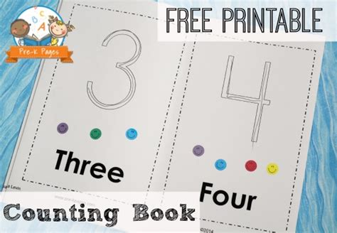 printable counting book 226 | free printable counting book1