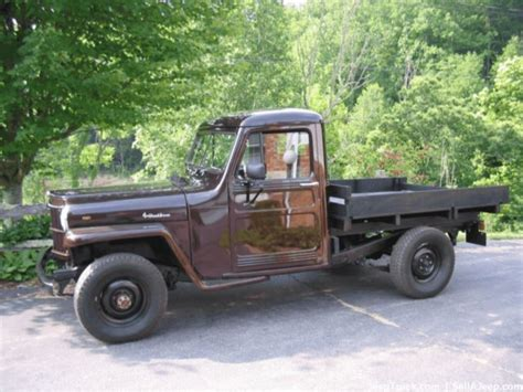 willys jeep pickup for sale used jeeps for sale 1954 willys pickup truck for sale