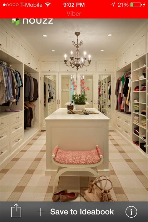 his and hers walk in closet home bedroom