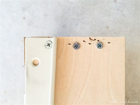 how to fix a broken drawer how to fix broken drawer fronts easily table and hearth