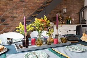 Herbst Dekoration Tisch : tischdeko archives leelah lovesleelah loves ~ Frokenaadalensverden.com Haus und Dekorationen