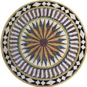 kitchen tile medallions 17 best images about outdoor medallions on 3265