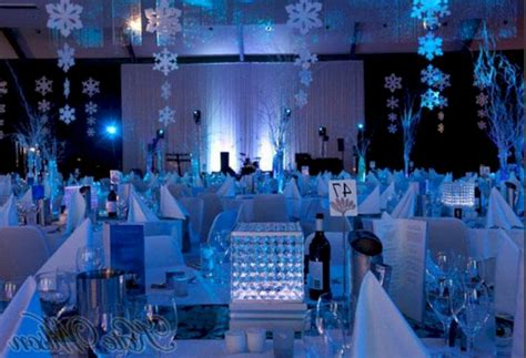 christmas winter wonderland party decoration ideas oosile