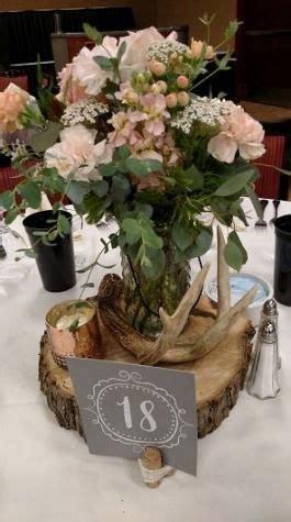 New wedding centerpieces wood deer antlers ideas Wedding