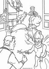 Shrek Dibujos Colorear Personajes Coloring Fiona Sin Menudo Lio Montando Estan sketch template