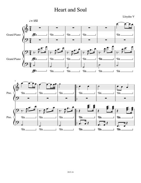 Heart and soul easy piano, piano, vocal, guitar, voice, guitar (easy piano). Heart and Soul Sheet music for Piano | Download free in PDF or MIDI | Musescore.com