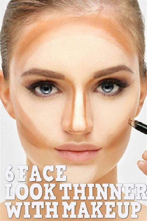 face  thinner  makeup fashion daily