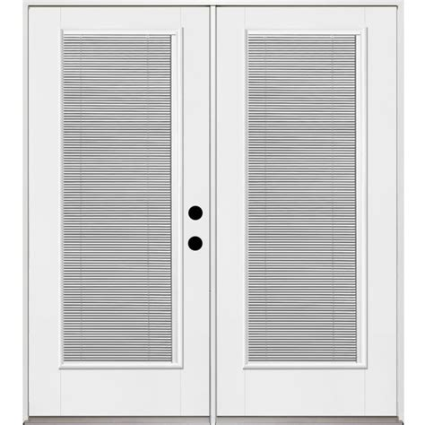 lowes patio doors with blinds shop benchmark by therma tru 70 5625 in blinds between the