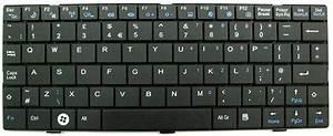 Advent 4213 Genuine Laptop Keyboard UK Black - MP-08A33GB ...