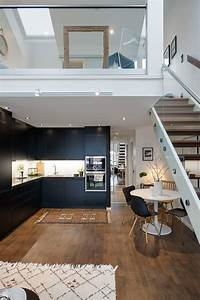 modern, swedish, maisonette, with, a, charming, upstairs, bedroom