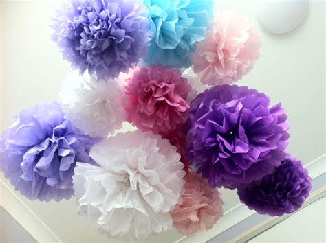 Sweet Mary Tissue Paper Pom Poms